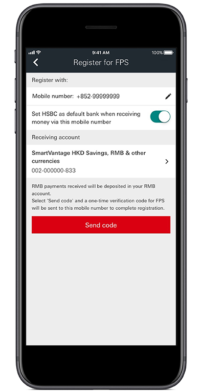 FPS - Faster Payment System | Quick Start | HSBC HK